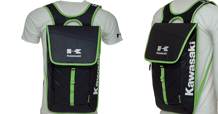 Kawasaki Slim Backpack detail photo 2