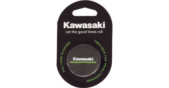 Kawasaki 3 Green Lines Logo Mobile Phone Stand detail photo 1