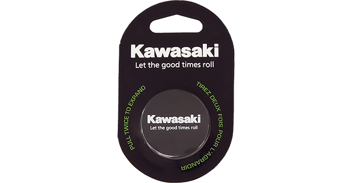 Kawasaki Let the good times roll Mobile Phone Stand detail photo 1
