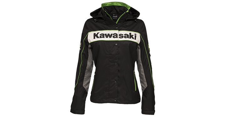 Kawasaki Racing Team Nylon Jacket detail photo 1