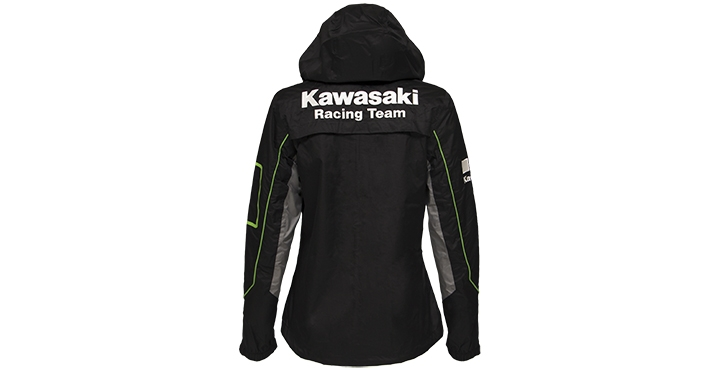 Kawasaki Racing Team Nylon Jacket detail photo 2