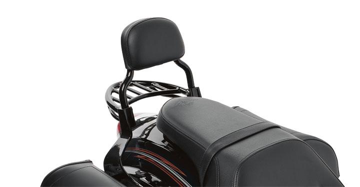 Passenger Backrest, Black detail photo 1