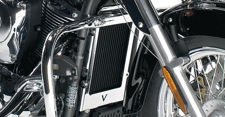 Radiator Cover, Chrome detail photo 1