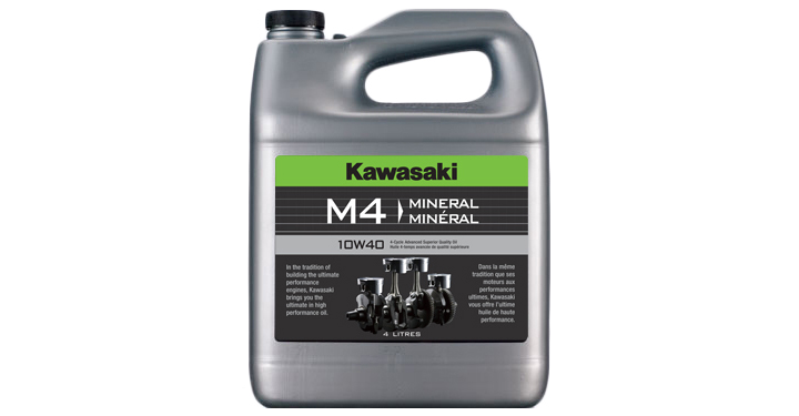 Kawasaki M4 10W40 - 4 Litre detail photo 1
