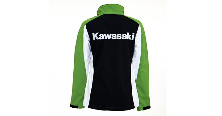 Kawasaki Soft Shell Jacket detail photo 4