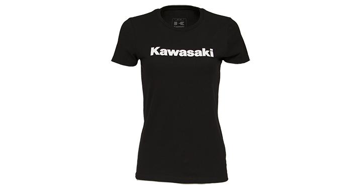 Kawasaki Crew Neck Tee, Black detail photo 1