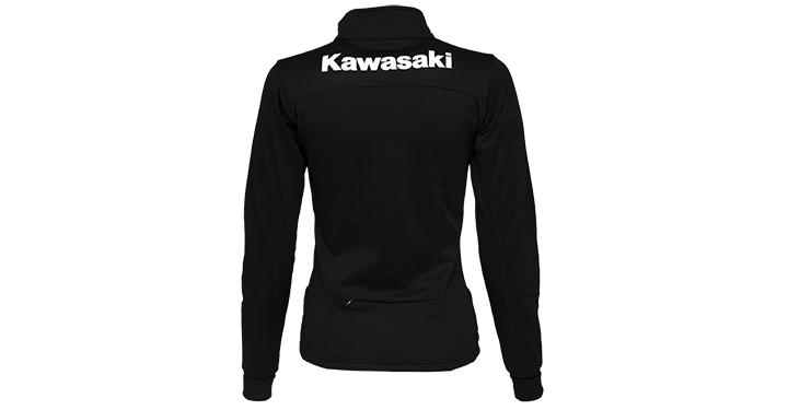 Kawasaki Full Zip Poly-Tech detail photo 2