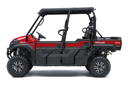 Left facing  image of Firecracker Red 2019 MULE FXT EPS LE